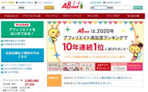 ASP 初心者 A8.net